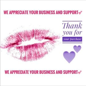 Thank you with Love💋for your purchase and sharing